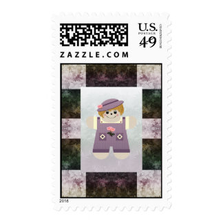 Family Country Doll Postage