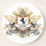 Family Crest coasters