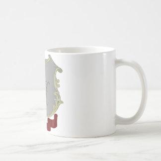 Family Crest Monogram Letter H Mug