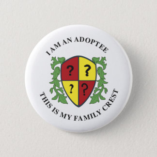 Family Crest Pinback Button