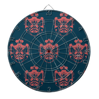 Family Crest Pink Blue Dart Boards
