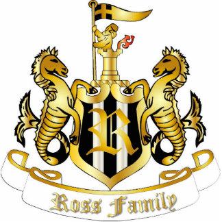 Family Crest Sculpture (Ross) Photo Sculptures