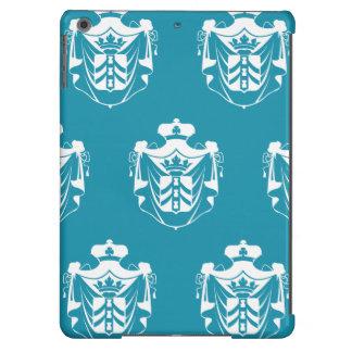 Family Crest White Blue iPad Air Case