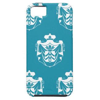 Family Crest White Blue iPhone SE/5/5s Case