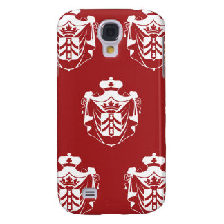 Family Crest White Red Galaxy S4 Case