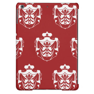 Family Crest White Red iPad Air Case