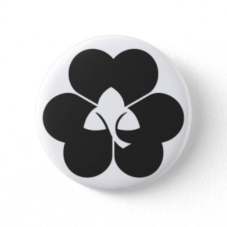 [Family Crests] Plants Pins brushed kanji