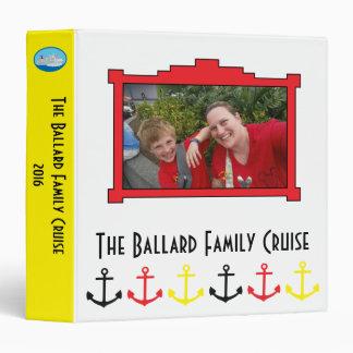 Family Cruise Planning Binder Scrapbook