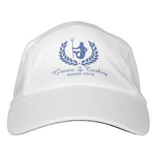 Family Cruise Sea God and laurel wreath custom Hat