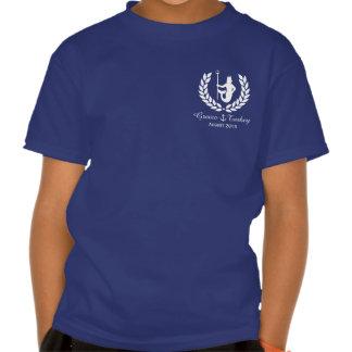 Family Cruise Sea God and laurel wreath custom Tee Shirt
