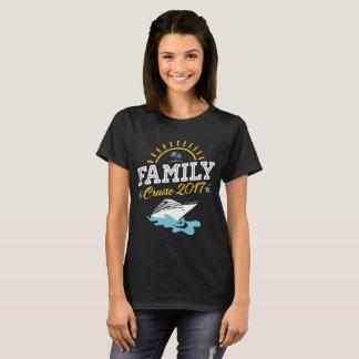 Family Cruise Vacation 2017 T-shirt