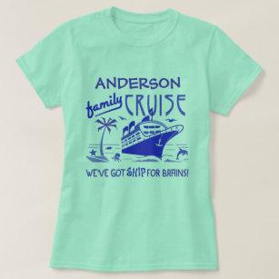 Family Cruise Vacation Funny Ship