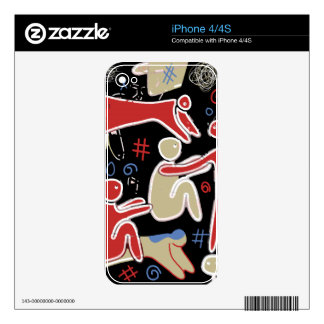 Family Decals For The iPhone 4S