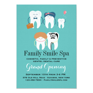 Family Dentistry Office Opening Announcement