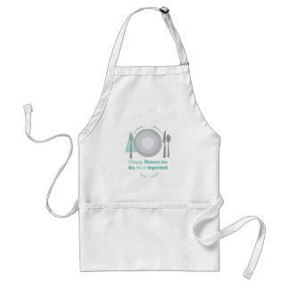 Family Dinners Adult Apron
