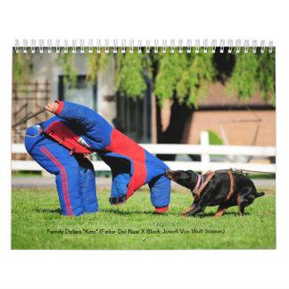 Family Dobes Protection Calendar 2013