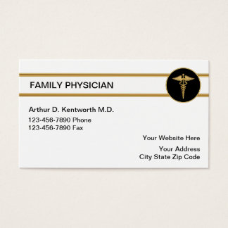 Doctors business cards templates zazzle for Medical doctor business card