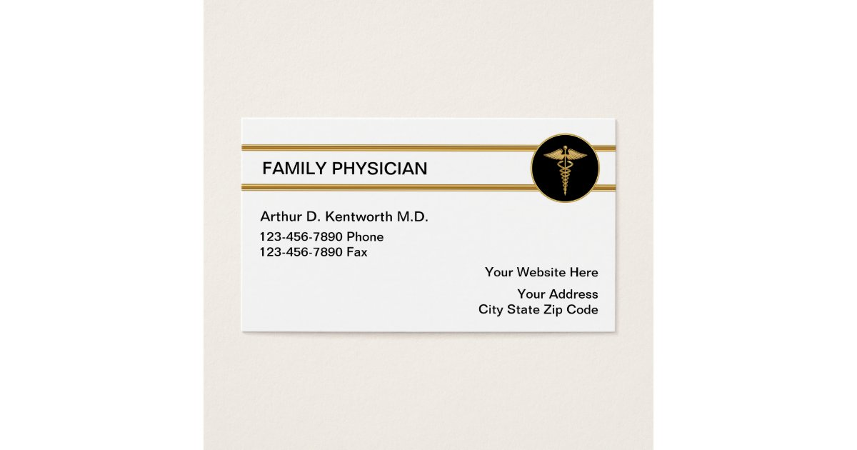 Family Doctor Business Cards | Zazzle.com