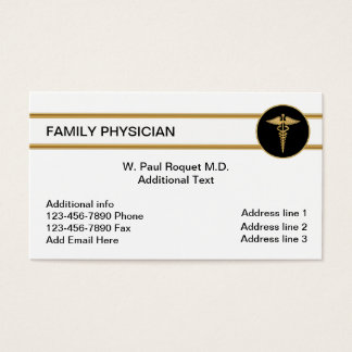 Family Doctor Business Cards