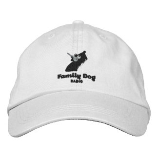 Family Dog Radio Embroidered Hat