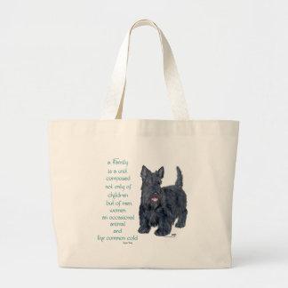 Family Dynamics - Scottish Terrier Wit & Wisdom Bag
