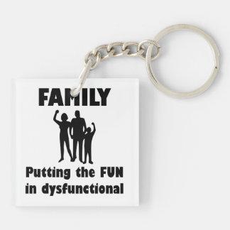 Family Dysfunctional Keychain