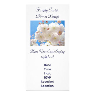 Family Easter Dinner Party! Invitations Blossoms