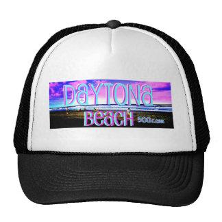 Family Enjoying Daytona Beach Trucker Hats