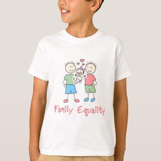 Family Equality Cartoon T-Shirt