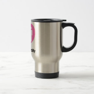 Family Equality Heart Travel Mug