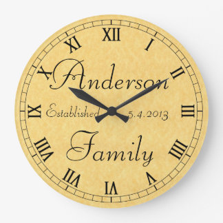 Family Established Clock
