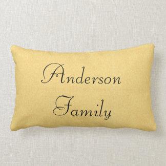 Family Established Lumbar Pillow