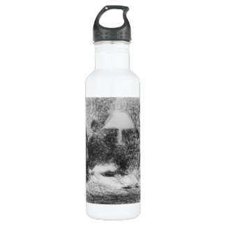 Family evening by Georges Seurat Stainless Steel Water Bottle