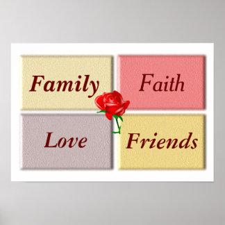 Family Faith - art print