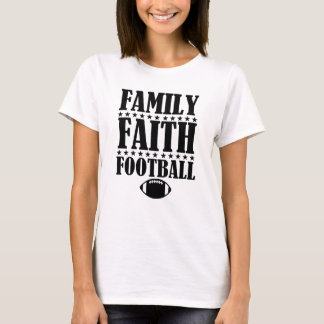 Family Faith Football Women's Funny shirt