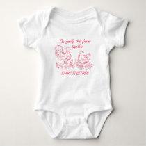Family Farm Baby Bodysuit