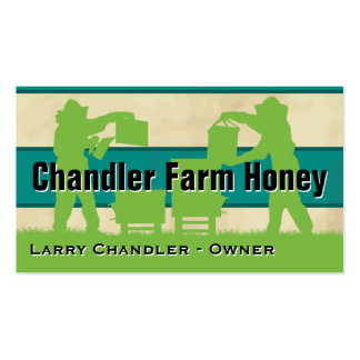 Family Farm Honey Personalized Business Card