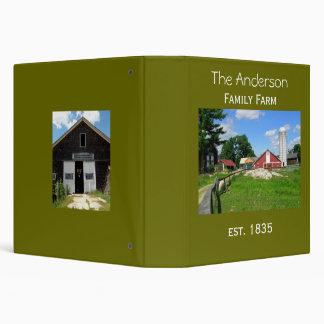 Family Farm Keepsake Photo Album Vinyl Binders