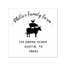 Family Farm | Return Address Stamp