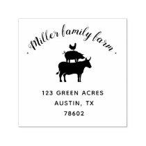 Family Farm | Return Address Stamp