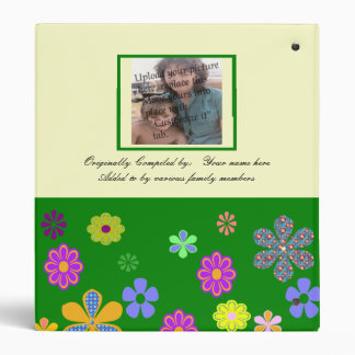Family Favorite Recipes Cookbook w/Matching Pages 3 Ring Binder