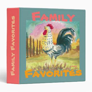 Family Favorites - Binder