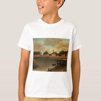 Family Fishing by Henri Rousseau T-Shirt