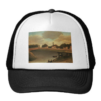 Family Fishing by Henri Rousseau Trucker Hat