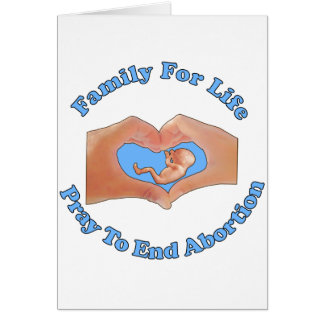 Family for Life Card