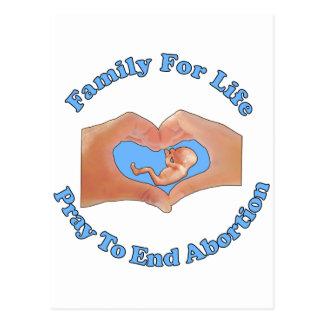 Family for Life Postcard