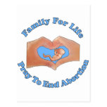 Family for Life Postcards