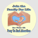 Family for Life Stickers