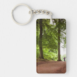 Family Forest Walk Keychain