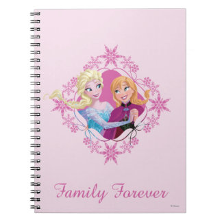 Family Forever Spiral Notebook